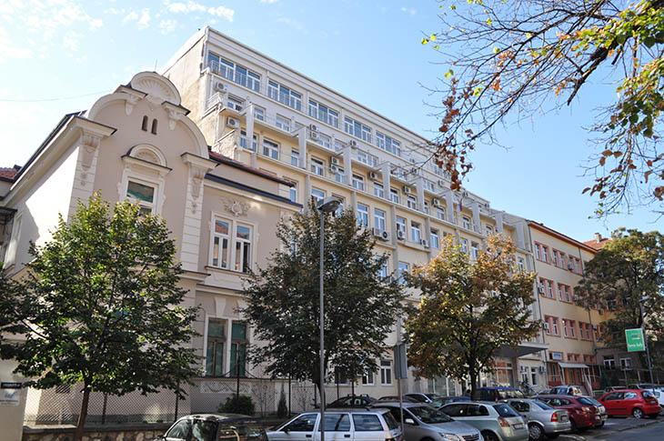zgrada inistituta za reumatologiju